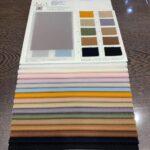 couleurs de tissu pour les abat-jour de l'usine d'abat-jour de porcelaine