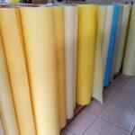 пергаментно-алебастровый стиль теневых тканей от поставщика фарфорового оттенка